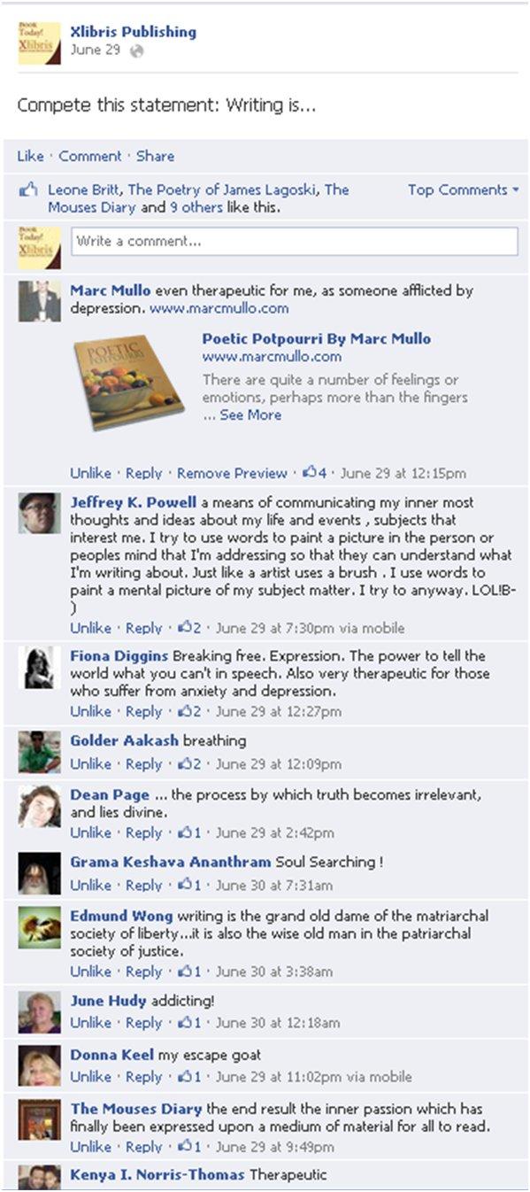 FB replies