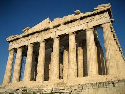 The Parthenon, one of the great Ancient Greek structures still standing today.